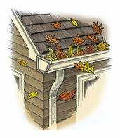 uncovered gutters need the most attention...gutter doctor...703-403-4714 CALL NOW!