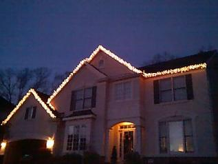 call gutter doctor today for your x mas light hanging needs 703 403 - Christmas Light Hanging Service
