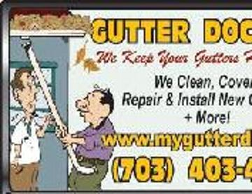 Gutter Doctor Northern VA. 703-403-4714  Serving FAIRFAX COUNTY, PRINCE WILLIAM COUNTY, LOUDOUN COUNTY